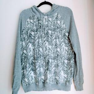 Clavin Klein Jeans Women's Hooded Sweater Size L